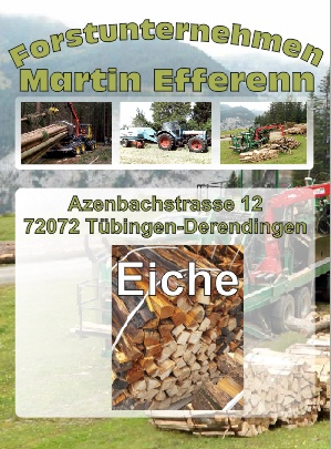 Eichenholz Brennholzhandlung Tübingen | Forstunternehmen Martin Efferenn